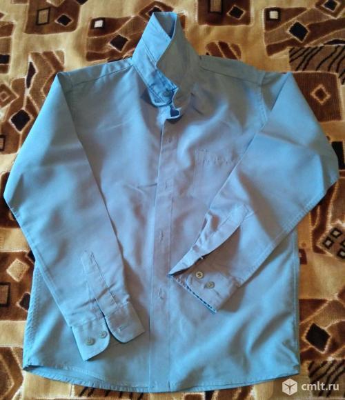 Серая рубашка. Фото 1.