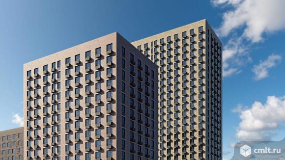 1-комнатная квартира 39,4 кв.м. Фото 16.