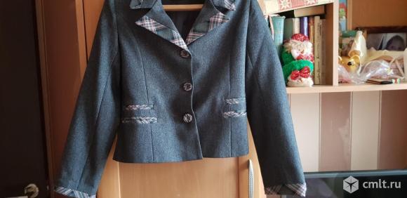 Школьная фотрма:пиджак+сарафан. Фото 4.