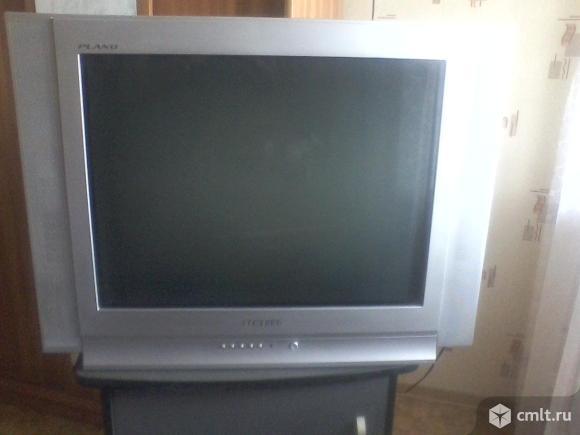Телевизор кинескопный цв. Samsung. Фото 1.