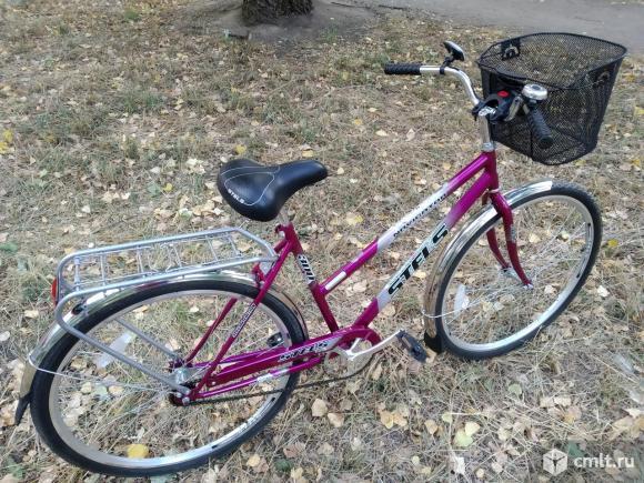 Велосипед стелс 300 новый. Фото 1.