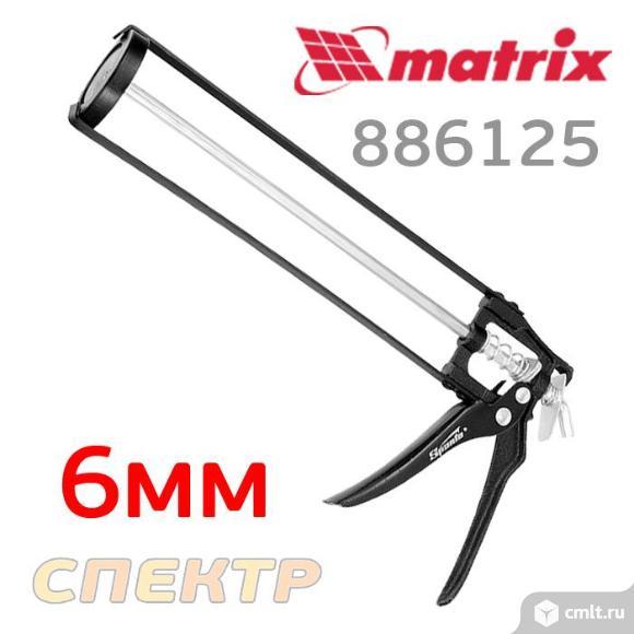 Пистолет для герметика SPARTA 886125 скелетный. Фото 1.