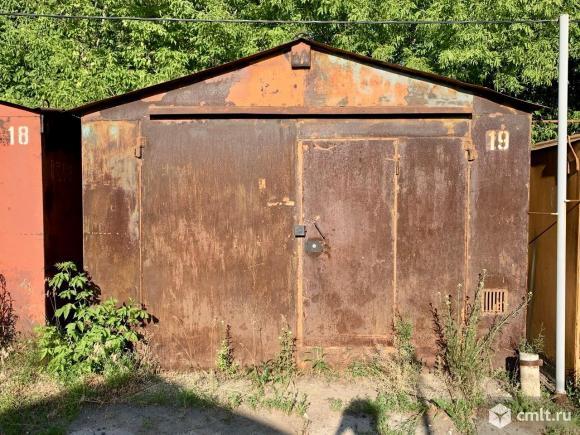 Металлический гараж 19 кв. м Металлист. Фото 1.