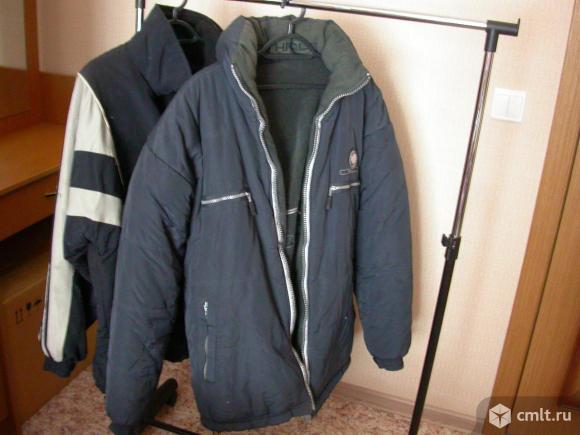 Куртки мужские, р. 48-50, б/у, 2 шт., по 900 р. Фото 1.