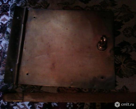 Створка печная латунь. Фото 3.