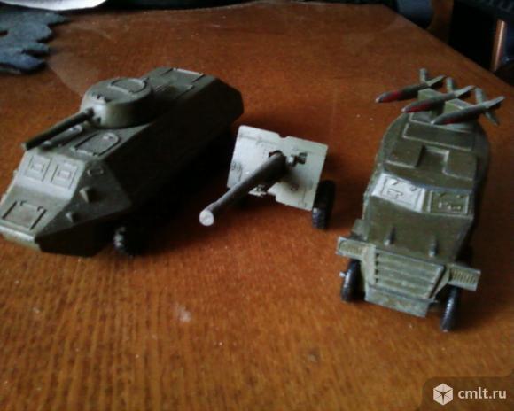 Военные модельки ссср. Фото 1.