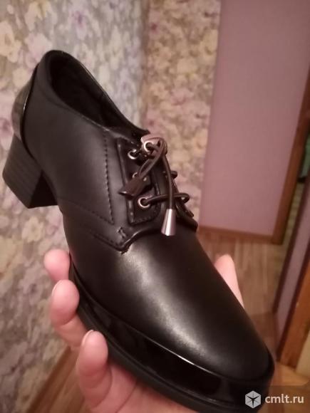 Туфли женские новые рр 38. Фото 1.