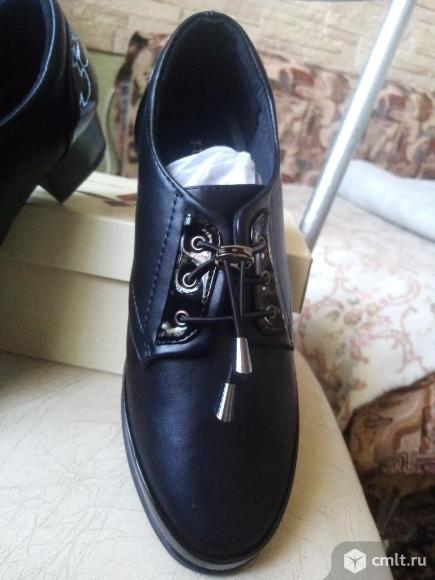 Туфли женские новые рр 38. Фото 6.
