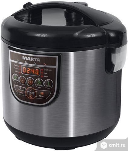 Новая мультиварка Marta MT-4323 Black Pearl. Фото 1.