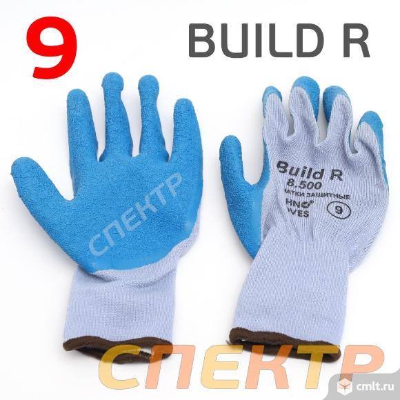 Перчатки защитные BUILD R 8.500 (р.9) бесшовные. Фото 2.