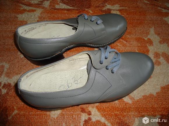 Туфли мужские кожаные(натур.) р-р 41. Фото 1.