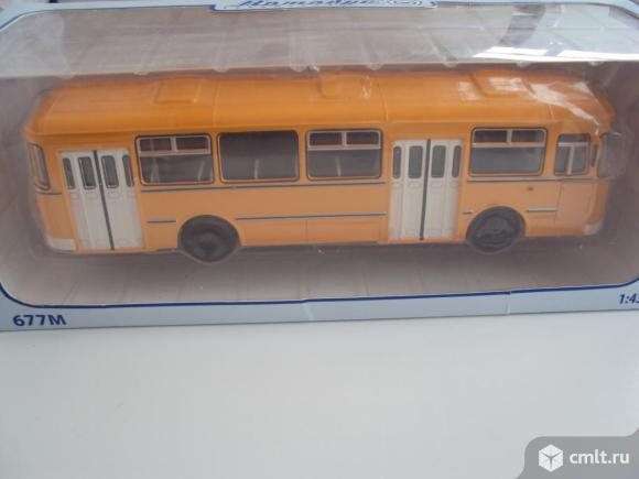 Автобус Лиаз 677м. Фото 1.