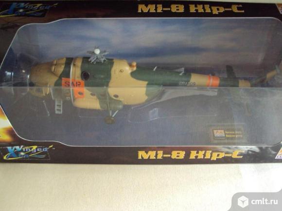 Вертолёт Germany Хели немецкая армия спасения Mi-8T. Фото 1.