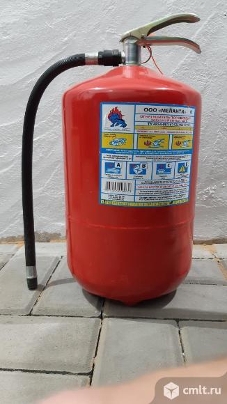 Огнетушитель порошковый закачной ОП-8(з) – ABCE. Фото 1.