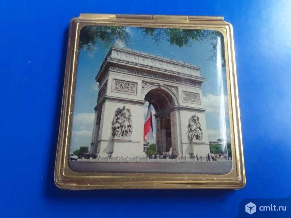 Зеркальце СССР.  Двойное. Триумфальная арка. Фото 1.
