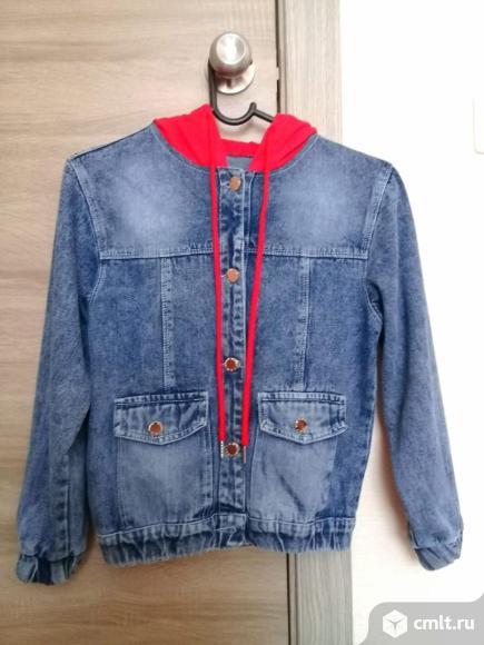 Куртка джинсовая детская. Фото 1.
