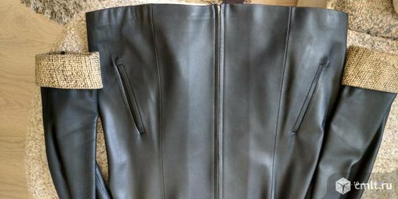 Куртка кожаная женская. Фото 5.