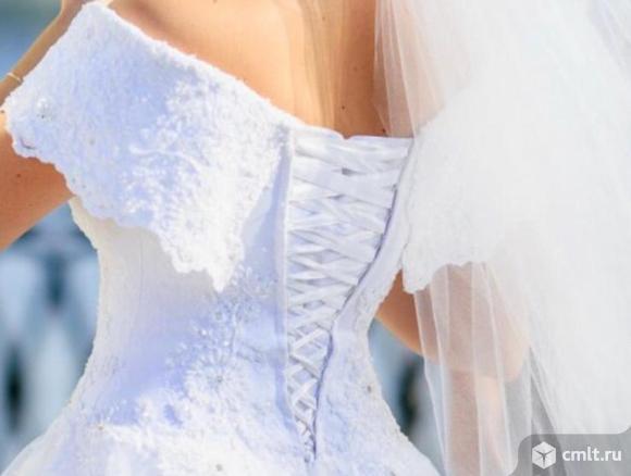 Свадебное платье невесты. Фото 1.