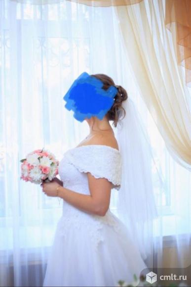 Свадебное платье невесты. Фото 4.