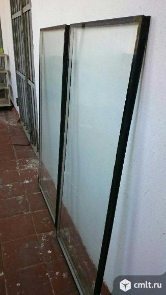 Однокамерный стеклопакет б/у. Фото 1.