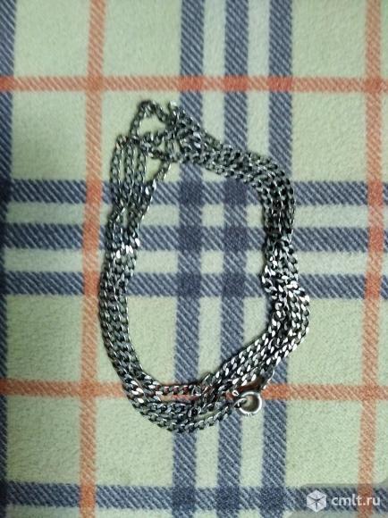 Серебряная цепочка. Фото 1.