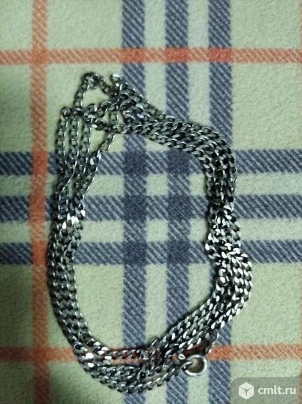 Серебряная цепочка. Фото 2.