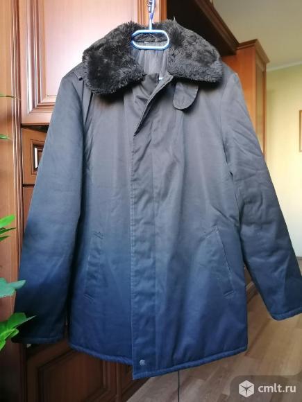 Куртки тёплые размеры 46,48,50,52 новые. Фото 1.