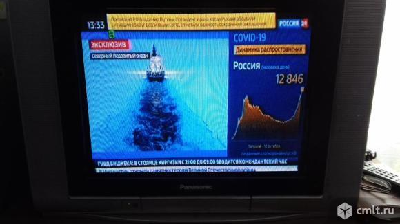 Телевизор кинескопный цв. Panasonic. Фото 1.