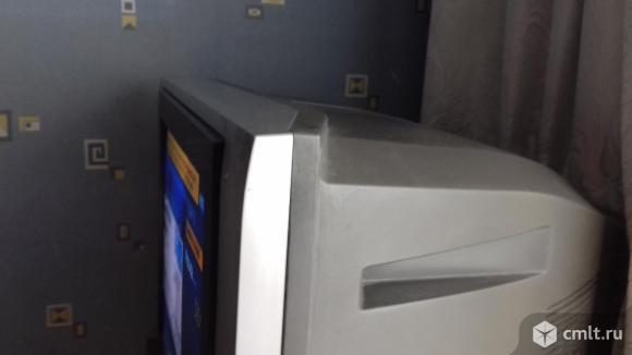 Телевизор кинескопный цв. Panasonic. Фото 2.