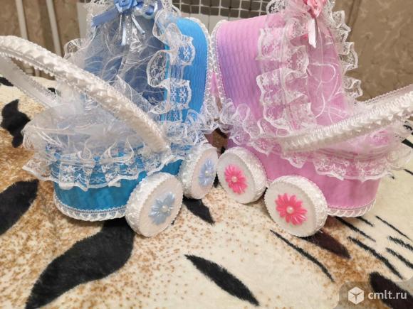 Свадебные колясочки. Фото 1.