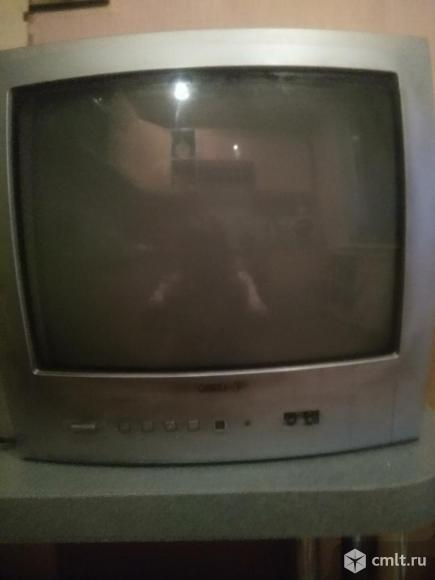 Телевизор кинескопный цв. телевизор Vestel Vestel. Фото 1.