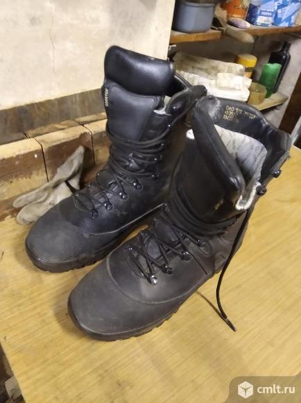 Сапоги утепленные кожаные. Фото 2.