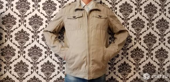 Куртка-ветровка с подкладкой размер 50-52-54, рост 175-185, не носили)
