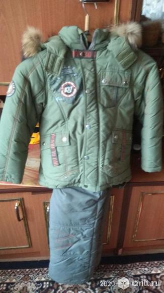 Продается зимняя куртка и штаны для мальчика. Фото 1.