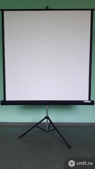 Экран на штативе Projecta ProView 127*127 см.. Фото 1.