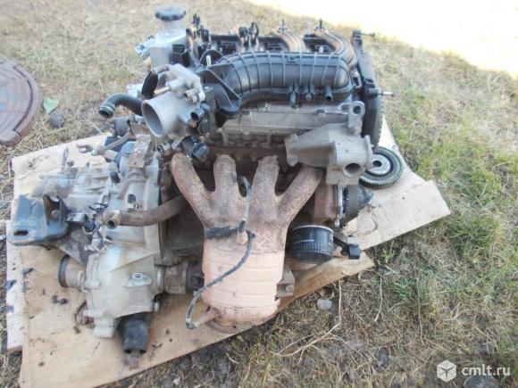 Двигатель с кпп в сборе. Фото 1.
