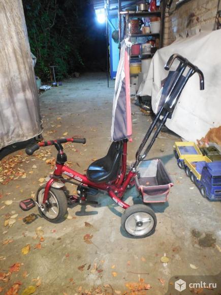 Велосипед детский 3х колесный.. Фото 1.