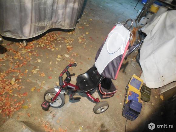 Велосипед детский 3х колесный.. Фото 2.