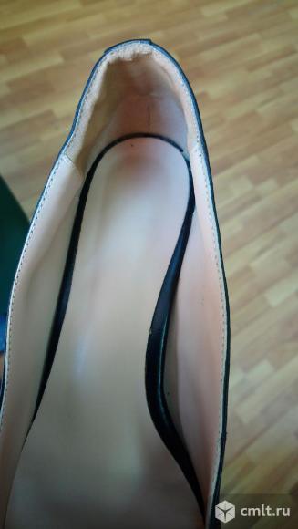 Туфли женские кожа офисные. Фото 4.