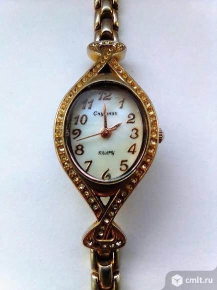 Часы кварцевые наручные. Фото 1.