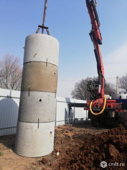 Бурение: колодцы для воды из бетонных колец, под сваи, столбы, опоры ЛЭП, пирсы, причалы.. Фото 1.