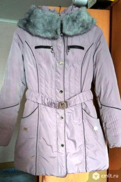 Осенняя удлиненная куртка.. Фото 1.