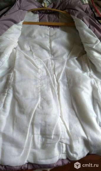 Осенняя удлиненная куртка.. Фото 4.