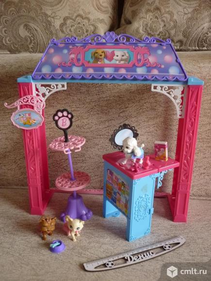"""Игровой набор Барби """"Зоомагазин"""". Фото 1."""