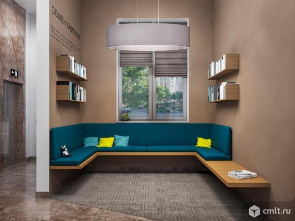2-комнатная квартира 53,71 кв.м. Фото 18.