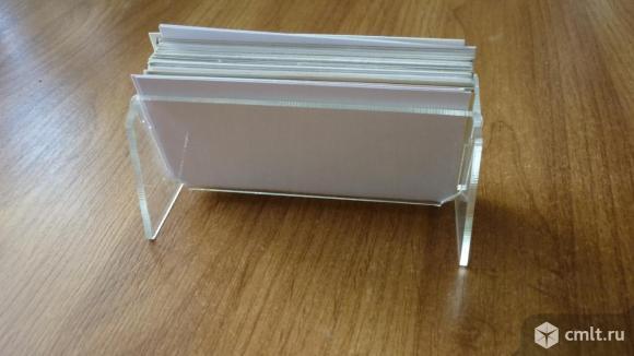 Карточки визитница. Фото 4.