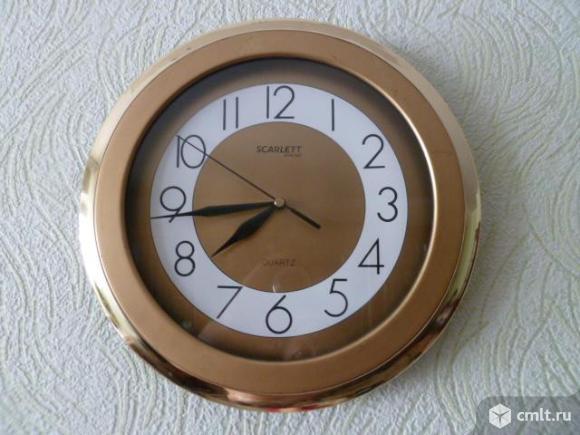 Часы настенные Scarlett. Фото 2.