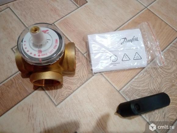 Клапан регулирующий поворотный Danfoss. Фото 1.