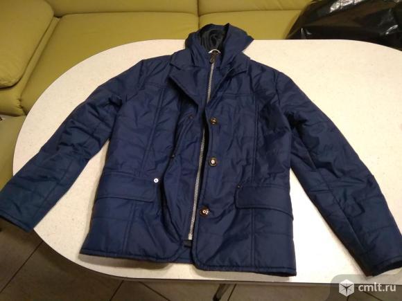 Куртка-пиджак демисезонная. Фото 1.