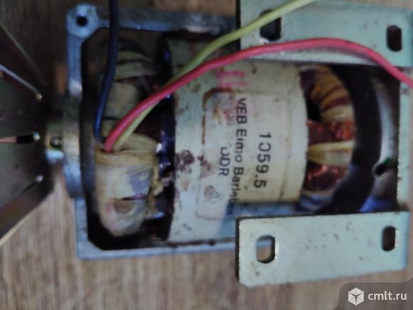 Электродвигатель VEB Elmo Barleben. Фото 2.